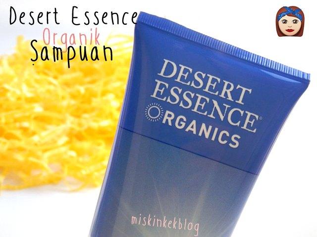 Desert Essence sampuan kullananlar yorumlari blog organik sulfatsiz sampuan