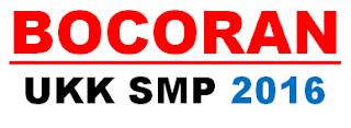 Soal UKK SMP BKS 2015/2016 Lengkap Dengan Kuncinya