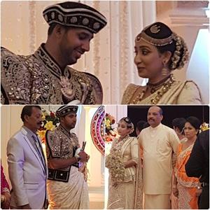 Range Bandara's daughter weds Youth Centre Head