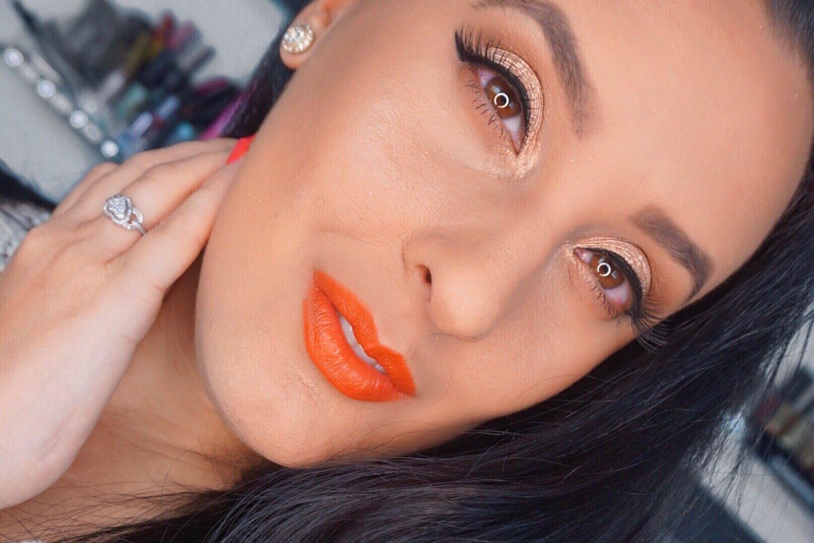 Orange-Lips-Bronzed-Eyes-MOTD-Vivi-Brizuela-PinkOrchidMakeup