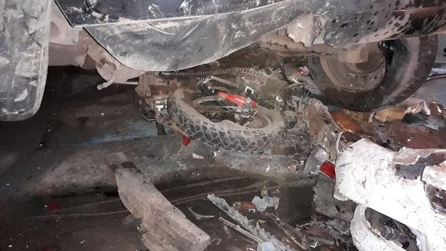 Justiça suspende habilitação de motorista que atingiu carro e moto em Santarém