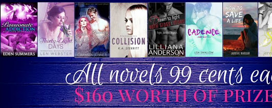 8 Amazing Novels. All 99 cents each. Limited Time Only.