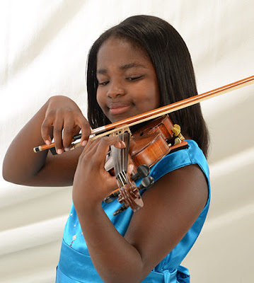 BlackNews.com: 11-Year Old Violinist Hopes to Make Black History
