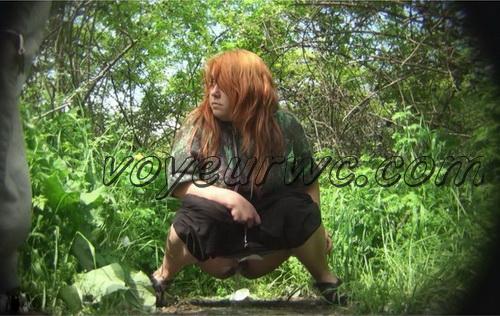 PissHunters 8545-8560 (Outdoor voyeur peeing. Voyeur public toilet spy cam)
