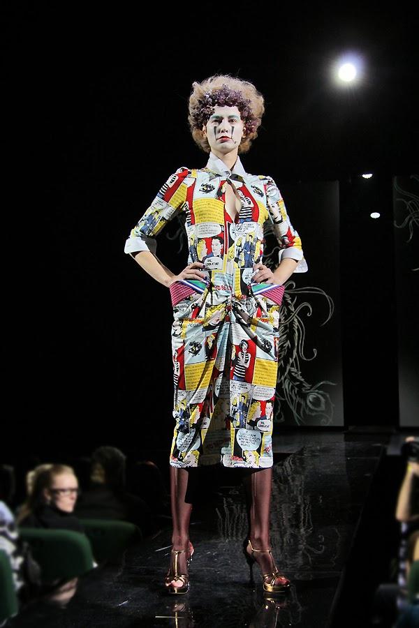 pop-art dress