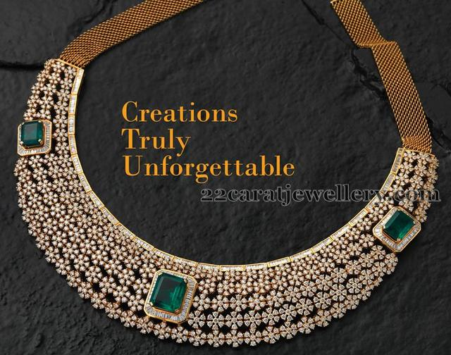 Diamond Choker by Creation Jewellery