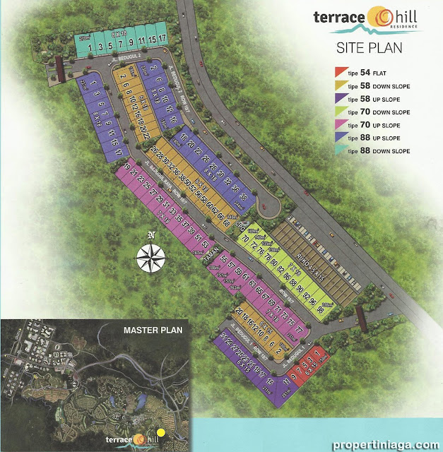 Master-Plan-Cluster-Terrace-Hill-Residence-di-Sentul-City-1