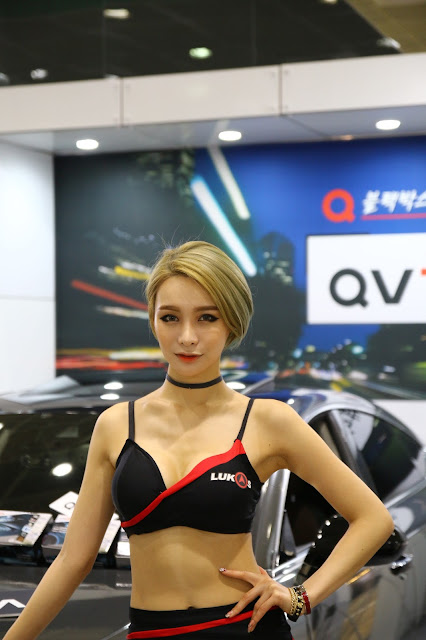 4 Park Ha - Seoul Auto Salon - very cute asian girl-girlcute4u.blogspot.com