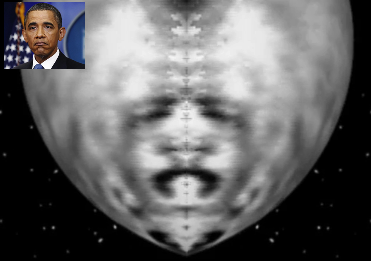 UFO SIGHTINGS DAILY: Obama Face Found On Ceres Dwarf ...