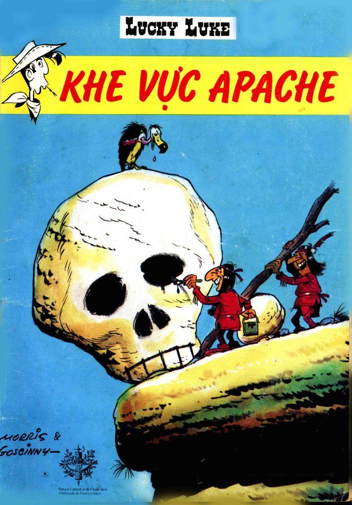 Lucky Luke tap 12 - khe vuc apache trang 45