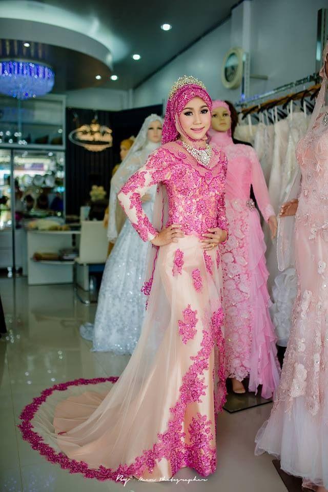 Model Baju Pengantin Muslim Terbaru 2016
