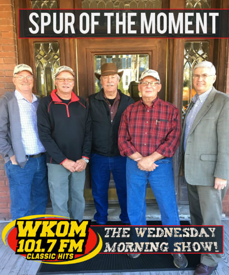 Spur of the Moment on the Wednesday Morning Show