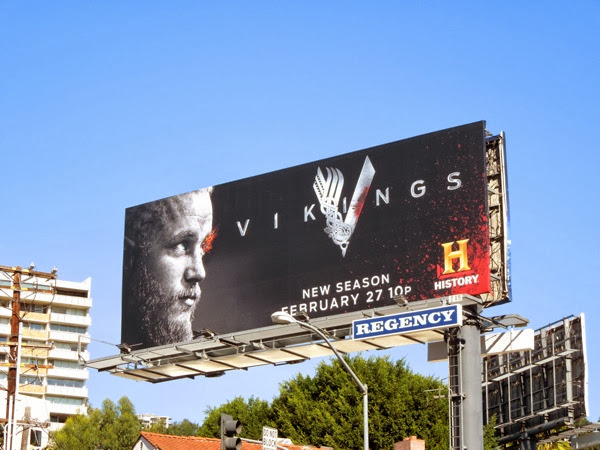 Vikings season 2 History billboard