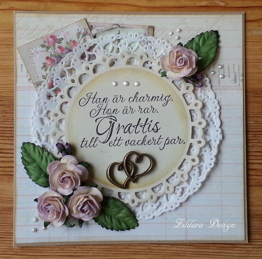 grattis bröllopskort Zildara design: Bröllopskort i vintagestil grattis bröllopskort