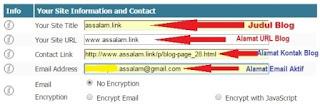 Untuk membuat halaman kebijakan privasi ini sahabat blogger bisa membuatnya sendiri dengan kata-kata, kalimat sahabat sendiri. Untuk panduan pembuatannya, sahabat bisa membaca postingan beberapa hari yang lalu mengenai syarat pembuatan privacy policy.