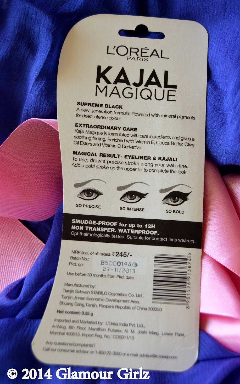 'Kajal Magique, ' by L'Oreal Paris.