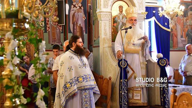 Αρχιερατική Θεία Λειτουργία στο Παναρίτι Αργολίδας για την εορτή του Γενεσίου Της Θεοτόκου (βίντεο)
