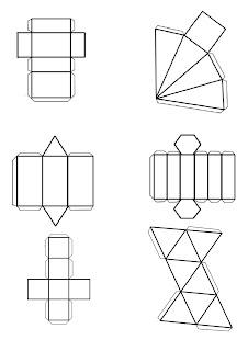 La construcción de poliedros regulares