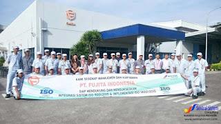 Lowongan Kerja Operator Produksi 2017 PT Fujita Indonesia,Karawang