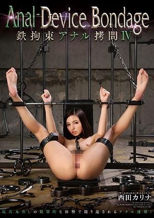 Anal Device Bondage IV Iron Restraint Anal Torture Nishida Karina [GVG-450 Karina Nishida]