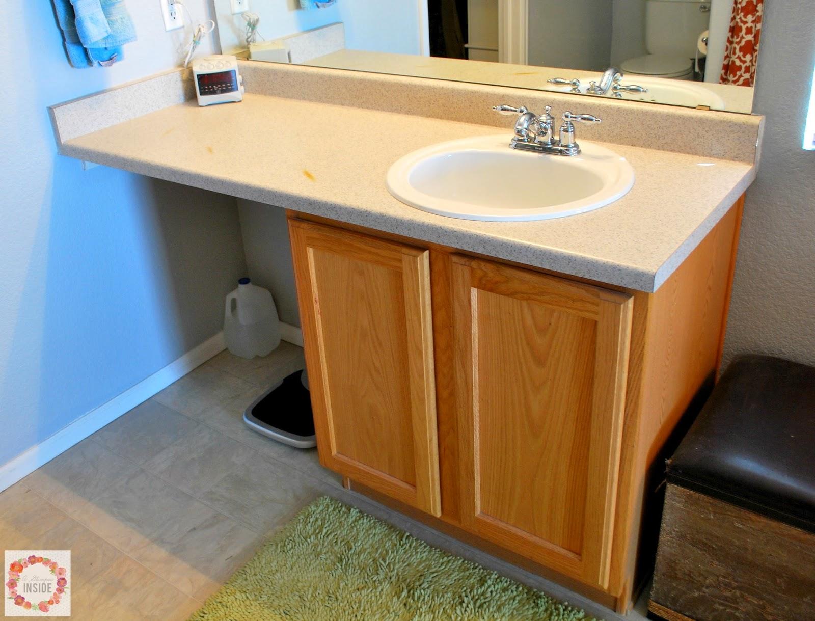 Master Bathroom Makeover Reveal A Glimpse Inside