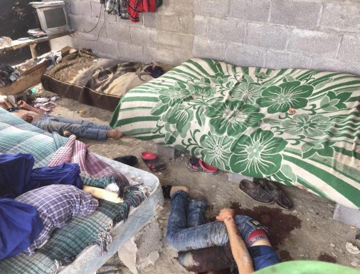 Tres hombres son torturados y ejecutados en Ébano, San Luis Potosí; a uno le sacaron los ojos