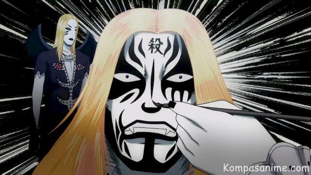 Detroit Metal City adalah Anime bertemakan musik metal terkeren
