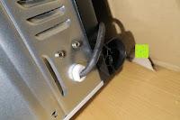 Kabelende: Andrew James – 23 Liter Mini Ofen und Grill mit 2 Kochplatten in Schwarz – 2900 Watt – 2 Jahre Garantie