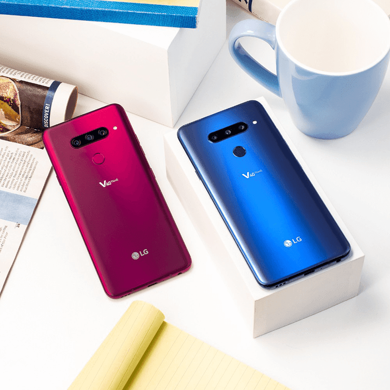 LG V40 ThinQ with a total of 5 cameras is now official!