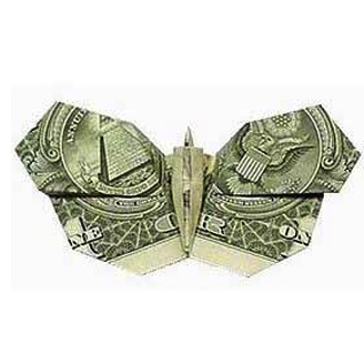 Money Origami butterfly | Paper Origami Guide - photo#19