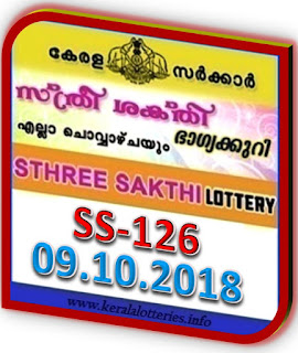 kerala lottery result from keralalotteries.info 09/10/2018, kerala lottery result 09.10.2018, kerala lottery results 09-10-2018, STHREE SAKTHI lottery SS 126 results 09-10-2018, STHREE SAKTHI lottery SS 126, live STHREE SAKTHI   lottery, STHREE SAKTHI lottery, kerala lottery today result STHREE SAKTHI, STHREE SAKTHI lottery (SS-126) 09/10/2018, SS 126, SS 126, STHREE SAKTHI lottery SS126, STHREE SAKTHI lottery 09.10.2018,   kerala lottery 09.10.2018, kerala lottery result 09-7-2018, kerala lottery result 09-10-2018,