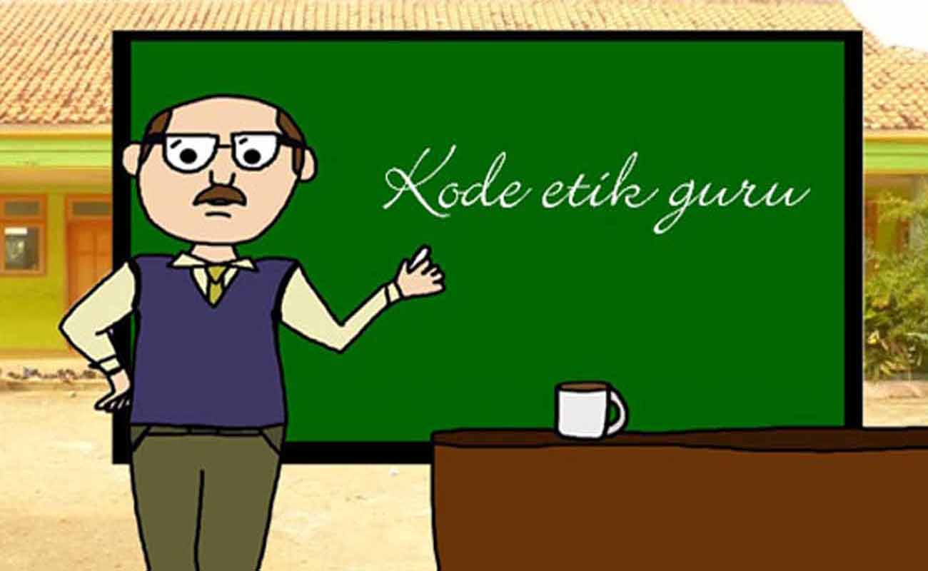 Download Contoh Format Kode Etik Guru Terbaru