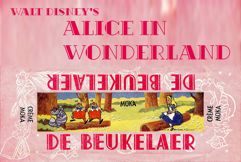 Vintage Disney Alice in Wonderland