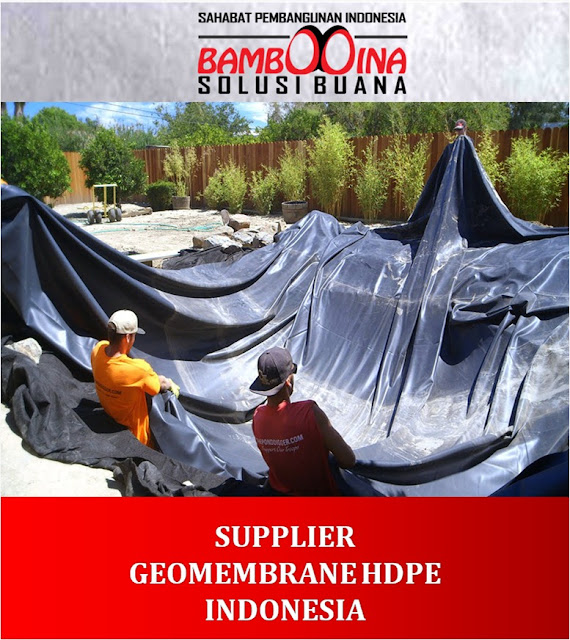 Supplier Jual Geomembrane HDPE di Medan