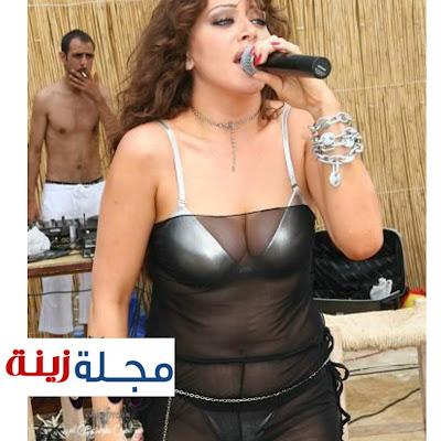 بطلة كلن بدن نانا تغني بملابس شفافة تكشف الكثير