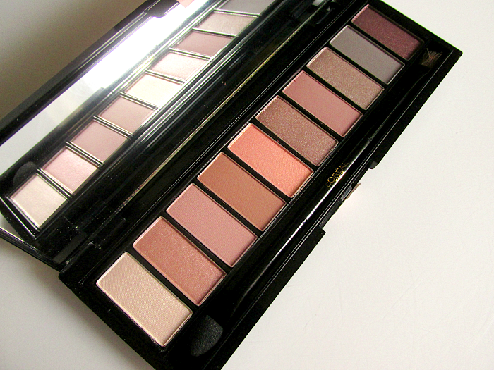 Review & Swatches L´Oréal Paris Color Riche La Palette Nude Rosé  14.99 Euro 7g