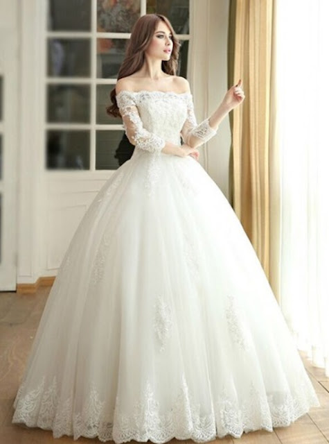 http://www.dressesofgirl.com/amazing-ball-gown-off-the-shoulder-tulle-floor-length-appliques-lace-3-4-sleeve-wedding-dresses-dgd00022667-5665.html?utm_source=post&utm_medium=DG6002&utm_campaign=blog