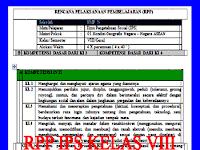 RPP dan SILABUS IPS Kelas 8 SMP/MTs Kurikulum 2013 Revisi 2017