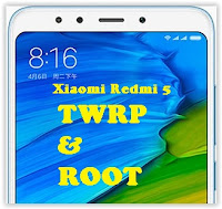 TWRP and root redmi 5