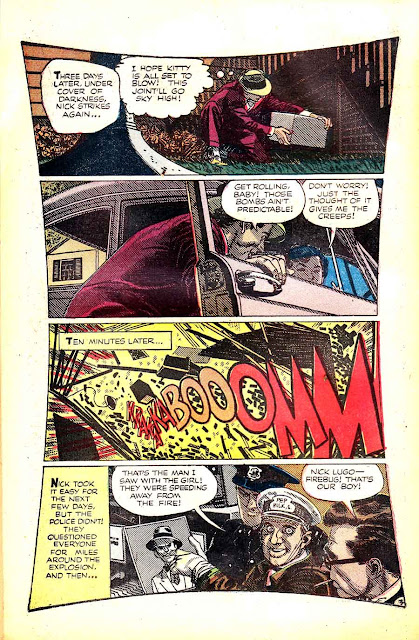 Crime and Punishment v1 #66 golden age crime comic book page art by Alex Toth