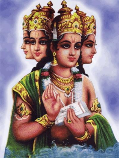 Hindu lord brahma pic