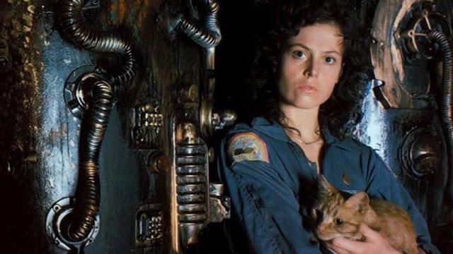 Sigourney Weaver en 'Alien'