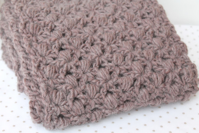 diy crochet wool scarf bufanda lana ganchillo