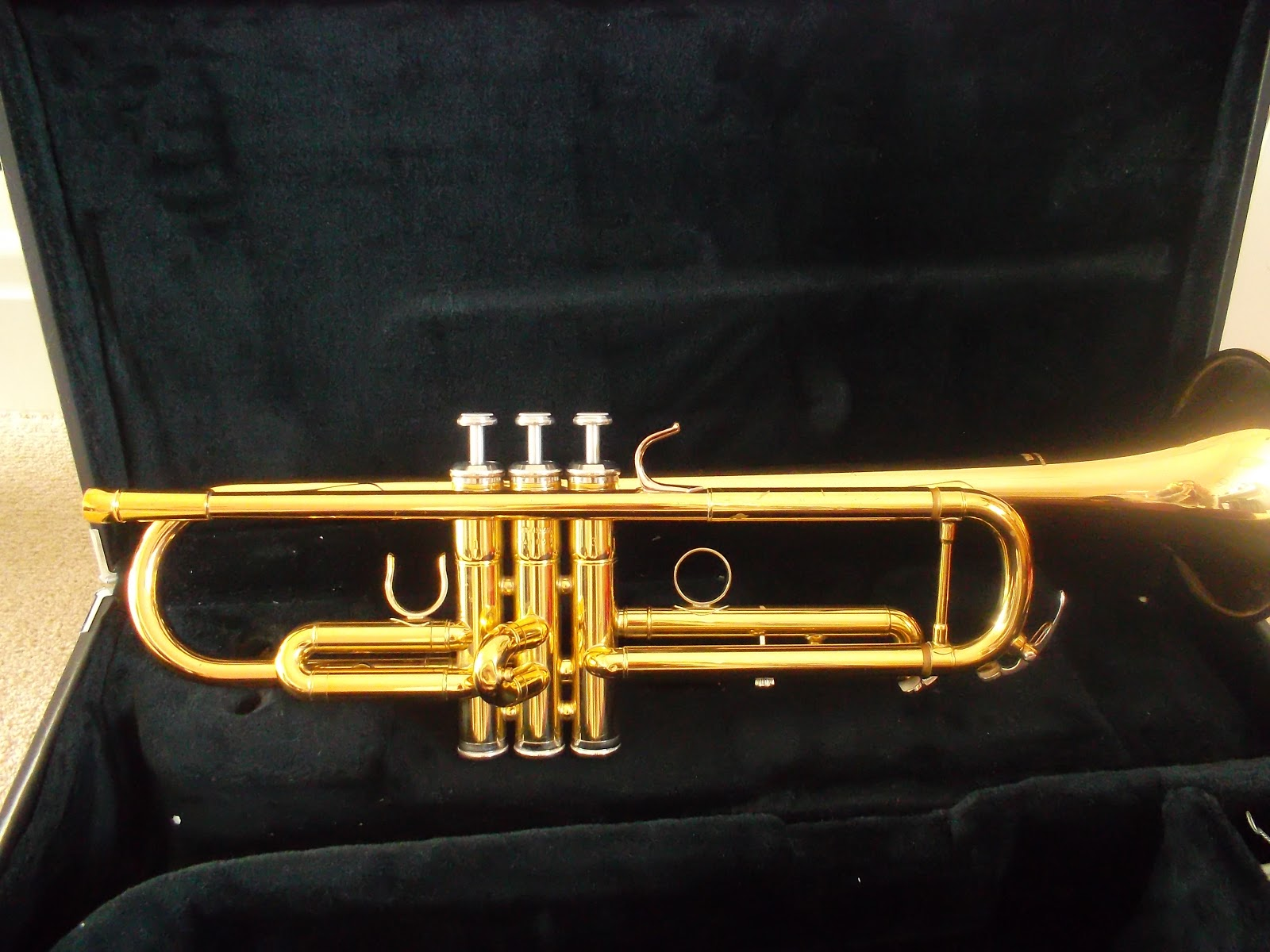 The Trumpet Player: Yamaha 4335G Trumpet Review