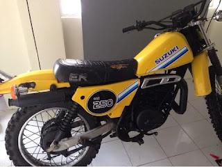 LAPAK TRAIL TUA : Dijual Classic Enduro Suzuki ER250 Jadoel 2 Stroke - BANDUNG