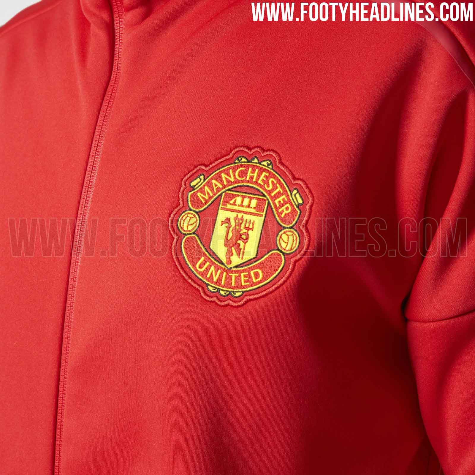 wholesale dealer 699e6 25402 Set to be available from November 2016, the Adidas Manchester United ZNE  Hoodie .