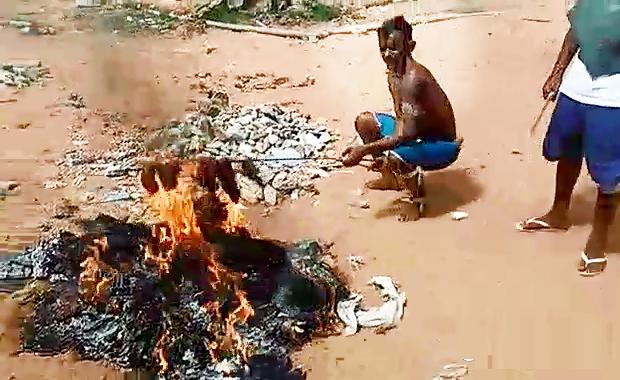 Detentos do SINDICATO RN fazem churrasco de PCC com carne humana em presidio de Alcaçuz