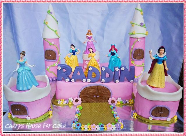 Princess Castle Birthday Cake Cherys House