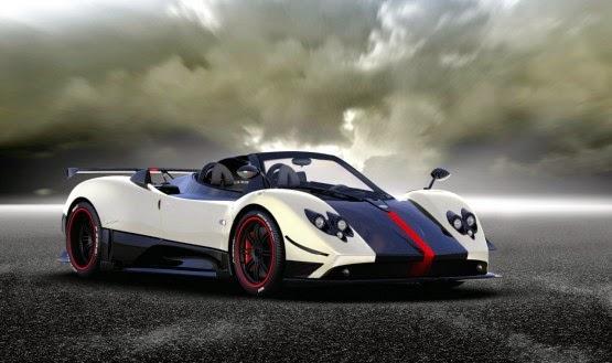 Bon Pagani Zonda Cinque Roadster