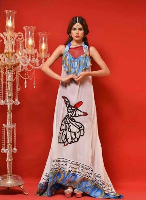 Hot and Cool Eid Collection by Hadiqa Kiani Cloth Dresses